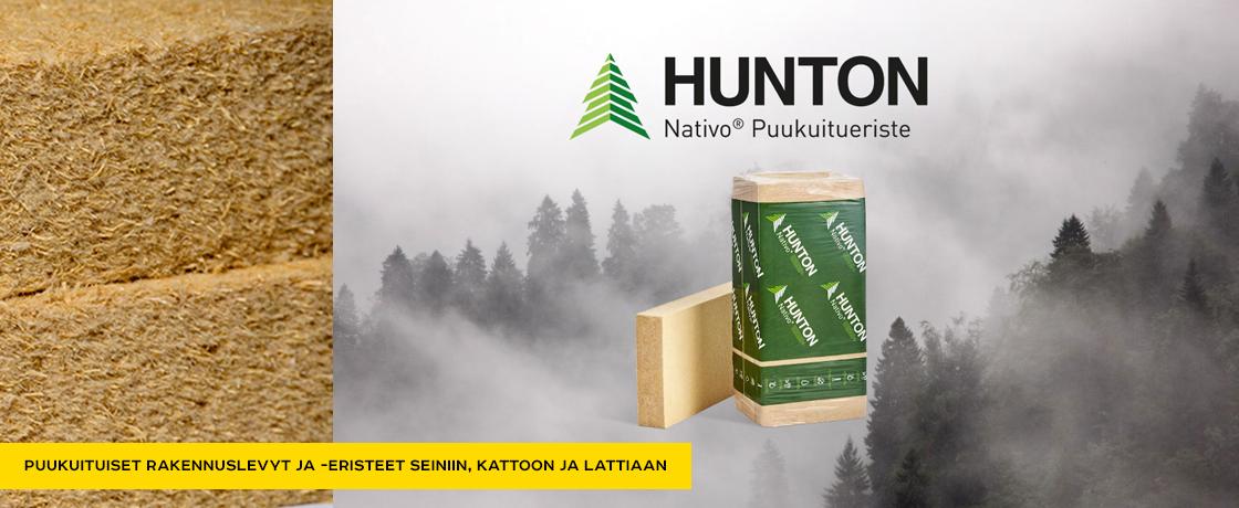 Hunton puukuitueristeet
