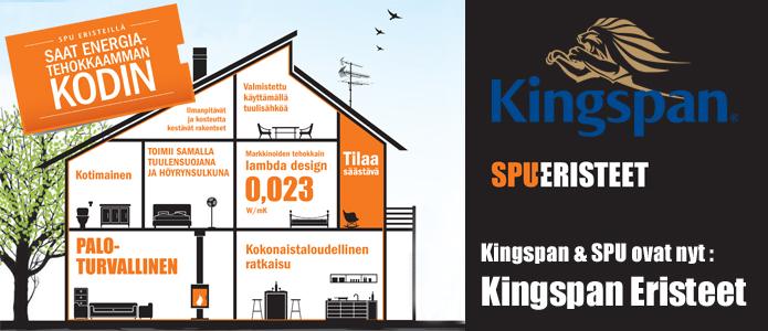 Kingspan SPU eristeet