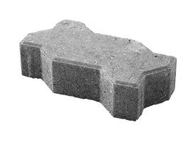 Betonikivi Lakka Unikivi 60 255x113x60mm Musta