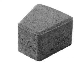 Betonikivi Lakka Klassikko kaarrekivi 60 115x110x60mm Musta