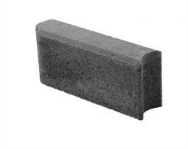 Betonikivi Lakka Nurmikon reunakivi 300 300x135x80mm Musta