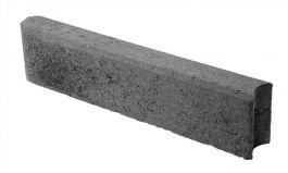 Betonikivi Lakka Nurmikon reunakivi 600 135x80x600mm Musta