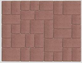 Betonikivi Lakka Roomankivet 60mm 5 eri kokoa Punainen
