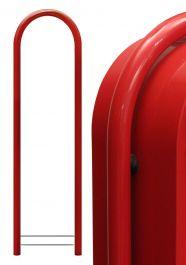 postilaatikko Bobi Round Jalusta 3001 Punainen