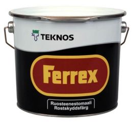 Ruostesuojamaali Teknos Ferrex 3L