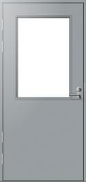 Parvekeovi Päijänne-ovet Huhti sileä mittatilausovi