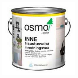 Sisustusvaha Osmo Color Inne 7394 Valkoinen 2.5 litraa