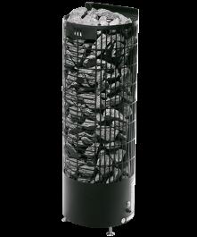 Sähkökiuas Mondex Kalla Musta 6,6kW (6-9 m³) Erillinen Ohjauskeskus