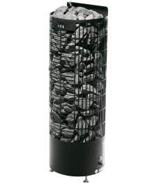 Sähkökiuas Mondex Kalla E Musta 9,0kW (8-15 m³) Erillinen Ohjauskeskus