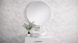 Kylpyhuonepeili Otsoson Rol 80 peili valkea
