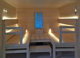 Laudevalaistus Cariitti sauna linear LED 2M