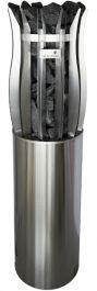 Sähkökiuas Magnum Lite Malja 6,6 kw, Finlandia ohjauskeskus + integrointikaulus (Ei valoja)