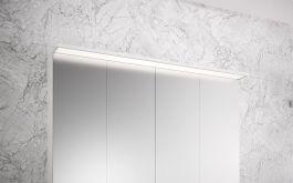 Peilikaappi Otsoson Luvia LED valolippa 1000 mm