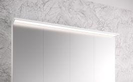 Peilikaappi Otsoson Luvia LED valolippa 1200 mm