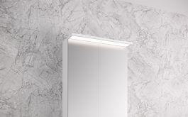 Peilikaappi Otsoson Luvia LED valolippa 500 mm