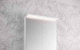 Peilikaappi Otsoson Luvia LED valolippa 600 mm