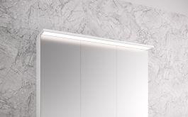 Peilikaappi Otsoson Luvia LED valolippa 900 mm