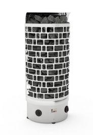 Sähkökiuas Sawo Aries 9kW Wall (8-13m³), Kiinteä ohjauskeskus