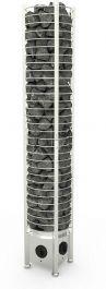 Sähkökiuas Sawo Tower Heater 6kW Round (5-8m³), Kiinteä ohjauskeskus