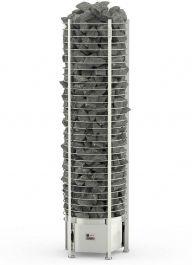 Sähkökiuas Sawo Tower Heater 9kW Round (8-15m³), Erillinen ohjauskeskus