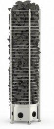 Sähkökiuas Sawo Tower Heater 9kW Round (8-15m³), Kiinteä ohjauskeskus