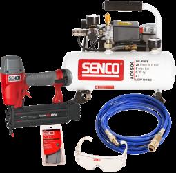 Kompressori- ja viimeistelynaulainsarja Senco Fp18 + Ac4504
