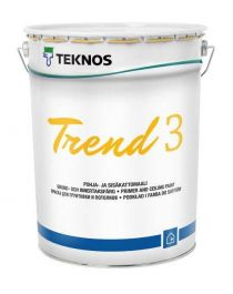 Pohja- ja Sisäkattomaali Trend 3 Pm1 18 litraa