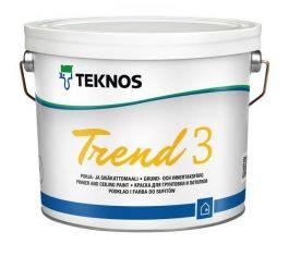 Pohja- ja Sisäkattomaali Trend 3 Pm1 2.7 litraa