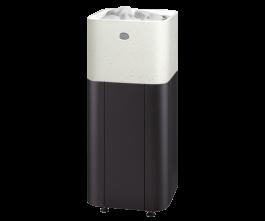 Sähkökiuas Tulikivi Kuura 2 integroitu valkoinen 9,0 kw (8-13m³)