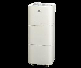 Sähkökiuas Tulikivi Kuura 2, valkoinen 6,8kw (5-9 m³)