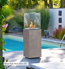Ulkotuli kaasukäyttöinen Neocube-o New York silk