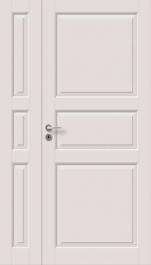 Väliovi levikkeellä, Saaristo Perinne-ovet, massiiivirakenne, 3-P Valkoinen