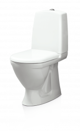 WC-istuin Svedbergs 9085 Valkoinen vaimennettu kansi