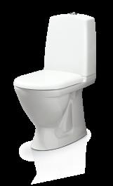 WC-istuin Svedbergs 9087 + Valkoinen vaimennettu kansi