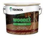 Woodex Wood Oil Ruskea   2.7 L Teknos