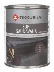 Supi Saunavaha Musta 1l Tikkurila