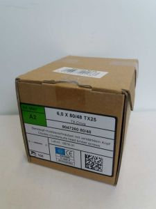 Ruuvi 6X80 Rst A2 Tx25 100 kpl/ ltk