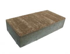 Betonikivi Lakka Pihakivi 60 278x138x60mm Ruskeavalkoinen