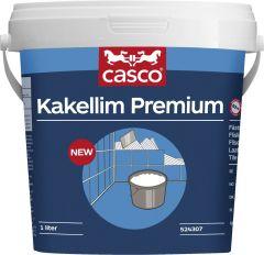 Kaakeliliima Casco Premium 1 l valkoinen