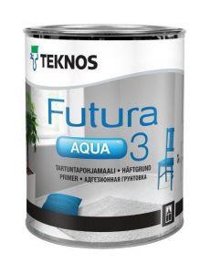 Futura aqua 3 Tartuntapohjamaali 0,9l Teknos