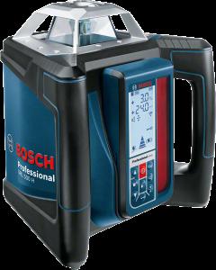 Pyörivä laser Bosch Grl 500HV Bt 160 + Gr 240