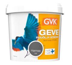 Puuöljy Geve Strong 9 litraa Harmaa
