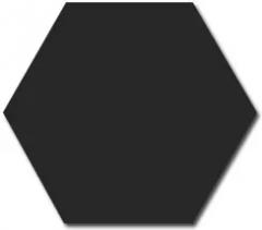 Seinälaatta Equipe Hexagon Musta 12,4x10,7 kiiltävä  0,61m²/ltk