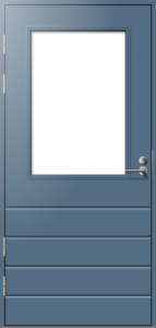 Parvekeovi Päijänne-ovet Huhti vaaka mittatilausovi