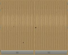 Kaskipuu autotallinovi AO4A 2500x2100mm