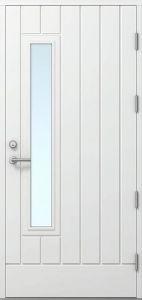 Ulko-ovi Kaskipuu FE-15 Viitasaari Thermo rakenteilla