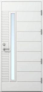 Ulko-ovi Kaskipuu FE-812 Viitasaari 1,0 rakenteilla