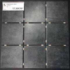 Lattialaatta Kemi Black 10x10