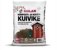 Biolan Komposti- ja Huussikuivike 40 Litraa