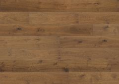 Kovapuulattia BHARD Höyrytetty tammi (Bronce) väritön öljy, viistetty, harjattu